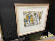 Sale 8936 - Lot 2059 - Barbara Davidson - Crossing the Road 2 lithograph, ed 2/40, 47 x 53.5 cm (frame) signed -