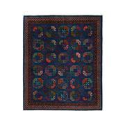 Sale 9082C - Lot 32 - Afghan Revival Turkoman Rug, 245x295cm, Handspun Wool