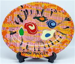Sale 9093A - Lot 5059 - Simon Mackley (1967 - ) - Dinner For One 15 x 20.5 cm