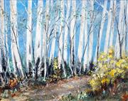 Sale 8495 - Lot 2055 - Essie Nangle (1915 - 2006) - Mountain Trail 58 x 75cm