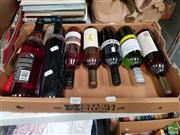 Sale 8478 - Lot 2087 - 9 Bottles of Mixed Wine