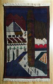 Sale 8653C - Lot 83 - Persian Baluchi 134cm x 80cm