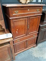 Sale 8688 - Lot 1011 - Music Cabinet with Bur Walnut Front