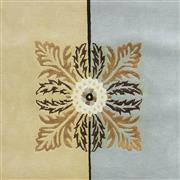 Sale 9082C - Lot 33 - India Grid Design, 195x285cm, Handspun Wool