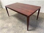 Sale 9092 - Lot 1071 - Danish rosewood oversized coffee table (h:60 x w:133 x d:74cm)