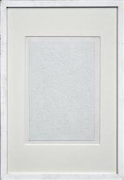 Sale 8286 - Lot 558 - Jiro Takamatsu (1936 - 1998) - Section Paper No. 380, 1971 30 x 20cm