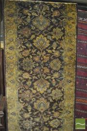 Sale 8331 - Lot 1066 - Indian Jaipuri runner, 445 x 79cm