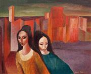 Sale 8583 - Lot 506 - William Drew (1928 - 1983) - Italian Landscape, 1976 44 x 54cm
