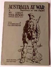 Sale 8639 - Lot 46 - Australia at War, Drawings at the Front, A Winter Record made by Lieut. Will Dyson on the Somme and Ypres during the Campaigns of 19...