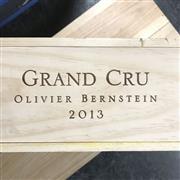 Sale 8825 - Lot 742 - 7x 2013 Olivier Bernstein Limited Edition Grand Cru Mixed Case - 1x Chambertin Clos-de-Bèze, 1x Mazis-Chambertin, 1x Chambertin, 1x...
