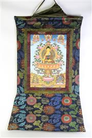 Sale 8913C - Lot 13 - Nepalese Buddha Thangka