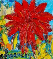 Sale 9002A - Lot 5047 - Evan Mackley (1940 - 2019) - Big Red 14 x 13 cm