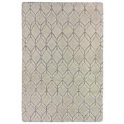 Sale 9082C - Lot 34 - India Diamond Moroc Design Rug, 160x230cm, Handspun Wool