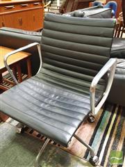 Sale 8435 - Lot 1067 - Eames Aluminium Group Management Chair