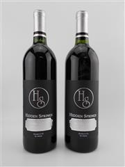 Sale 8454W - Lot 70 - 2x Hidden Springs Holiday Wine Cabernet Blend, Pilot Point