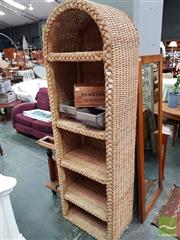 Sale 8469 - Lot 1090 - Wicker Open Shelf