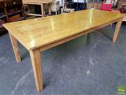 Sale 8489 - Lot 1090 - Russian Oak Dining Table (260cm)