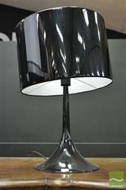 Sale 8507 - Lot 1006 - Black Metal Table Lamp