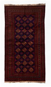 Sale 8770C - Lot 95 - A Persian Sumak Hand Woven Wool, 274 x 143cm