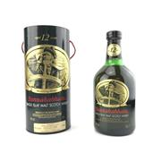 Sale 8785 - Lot 645 - 1x Bunnahabhain 12YO Single Islay Malt Scotch Whisky - old bottling, 40% ABV, 700ml in canister
