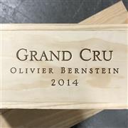Sale 8825 - Lot 745 - 7x 2014 Olivier Bernstein Limited Edition Grand Cru Mixed Case - 1x Chambertin Clos-de-Bèze, 1x Mazis-Chambertin, 1x Chambertin, 1x...