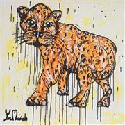 Sale 8880A - Lot 5012 - Yosi Messiah (1964 - ) - Fire Tiger 85 x 85 cm