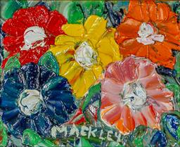 Sale 9002A - Lot 5046 - Evan Mackley (1940 - 2019) - The Fab Five 12 x 16 cm