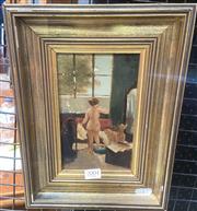 Sale 9087 - Lot 2004 - Artist Unknown - Studio Nude (Study) frame: 30 x 22 cm
