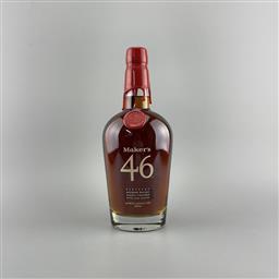 Sale 9250W - Lot 747 - Makers Mark Distillery 46 Kentucky Straight Bourbon Whiskey - 47% ABV, 750ml