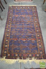 Sale 8284 - Lot 1094 - Tribal War Carpet (110 x 200cm)