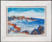 Sale 8440A - Lot 81 - Mary Oppenheim - At San Raphael, On the Way from... 23 x 31cm