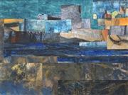 Sale 8504 - Lot 593 - Desiderius Orban (1884 - 1986) - Greek Collage, 1973 44.5 x 60cm