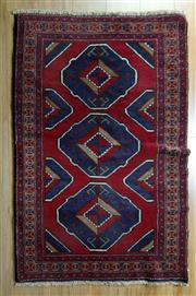 Sale 8653C - Lot 86 - Persian Baluchi 134cm x 84cm