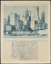 Sale 8794A - Lot 5045 - Christo (1935 - ) (3 works) - Manhattan; Paris; Berlin 88 x 70cm; 70 x 82cm: 82 x 70cm