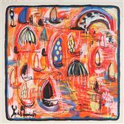 Sale 8880A - Lot 5041 - Yosi Messiah (1964 - ) - Burning Desire 85 x 85 cm
