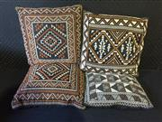 Sale 9026 - Lot 1019 - Collection of Four Tapestry Upholstered Cushions (34 x 34cm)