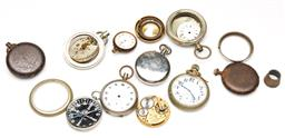 Sale 9246 - Lot 23 - A large quantity of various pocket watches and casings - mostly for parts
