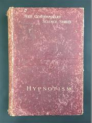 Sale 8539M - Lot 18 - Albert Moll, Hypnotism, ed. Havelock Ellis, from The Contemporary Science Series. London: Walter Scott, 1891. Second Edition. Orig...