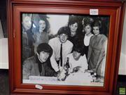 Sale 8557 - Lot 2080 - Beatles in Australia Print