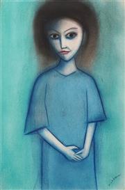 Sale 8683 - Lot 543 - Robert Dickerson (1924 - 2015) - Musings 56.5 x 37.5cm