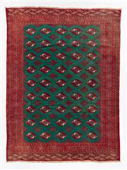 Sale 8770C - Lot 69 - A Persian Turkaman 100% Wool, 280 x 210cm