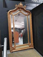 Sale 8912 - Lot 1001 - Ornately Gilt Framed Mirror (335) (H: 205 W: 108cm)