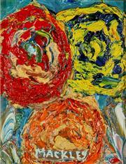 Sale 9002A - Lot 5042 - Evan Mackley (1940 - 2019) - Crop Circles 17.5 x 13.5 cm