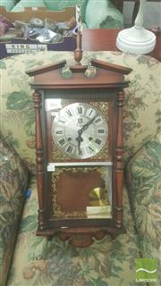 Sale 8406 - Lot 1040 - Unique 31 Day Wall Clock