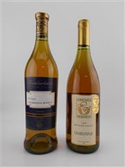 Sale 8454W - Lot 71 - 2x Hunter Valley Chardonnays - 1x 1998 Constable Hershon; 1x 1999 Tamburlaine Reserve