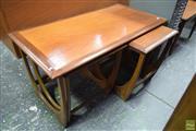 Sale 8550 - Lot 1039 - G-Plan Teak Nest of Tables