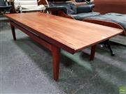Sale 8585 - Lot 1048 - Finn Juhl Teak Coffee Table with Raised Lip