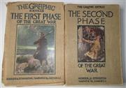 Sale 8639 - Lot 50 - Two Volumes of The Graphic Extras (London),The First Phase of the Great War and The Second Phase by A Hilliard Atteridge, published ...