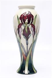 Sale 8710 - Lot 42 - Moorcroft Iris Vase