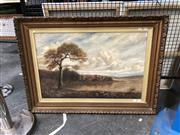 Sale 8836 - Lot 2047 - Artist Unknown - Landscape, oil on canvas, frame size 68 x 95cm